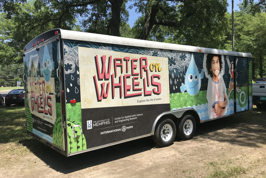 water science - water on wheels mobile WOW
